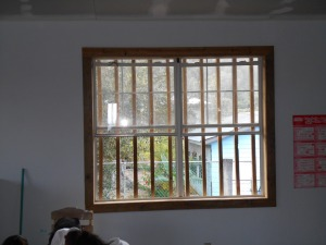 One of 15 windows the team built / jam extensions and trim